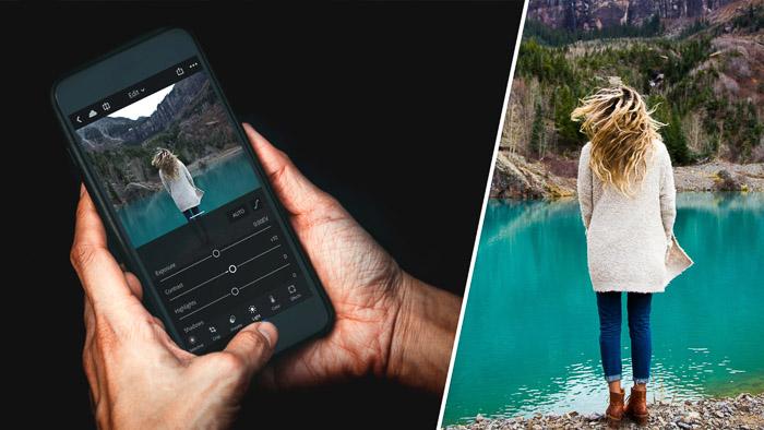 Lightroom CC Mobile screenshot - best iphone photo editing apps