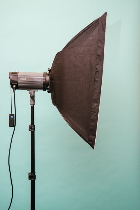 A light source for the 3 point lighting setup