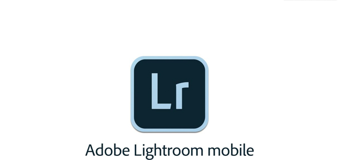 the icon for the Lightroom mobile app