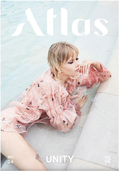 The cover of Atlas magazine that accepts photography submissions