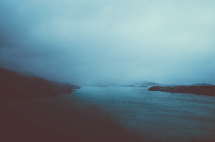 a beautiful moody coastal scene - stunning landscape photos
