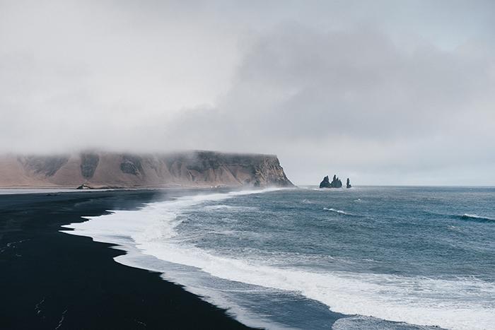 Reynisfjara beach - images of iceland