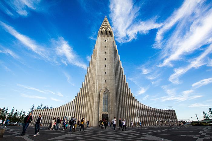 Hallgrimskirkja Church in Reykjavik - iceland photography tips
