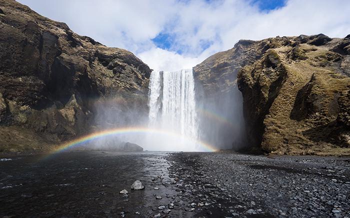 Skógafoss waterfall - Iceland photos