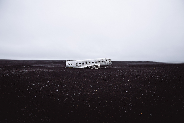 Sólheimasandur Iceland
