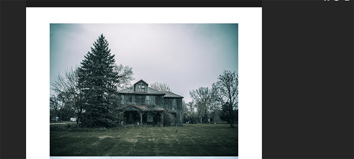 A screenshot from the Forgotten Iowa Tumblr photography blog