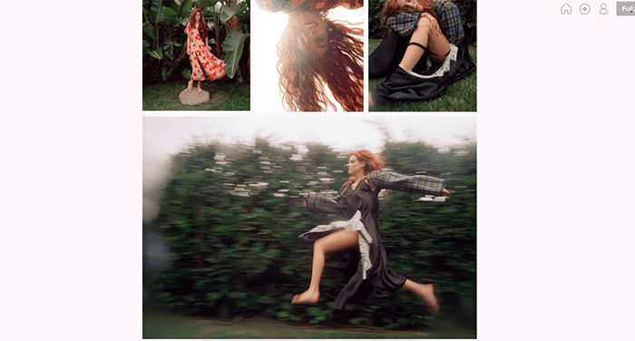 A screenshot from the Olivia Bee Tumblr photography blog
