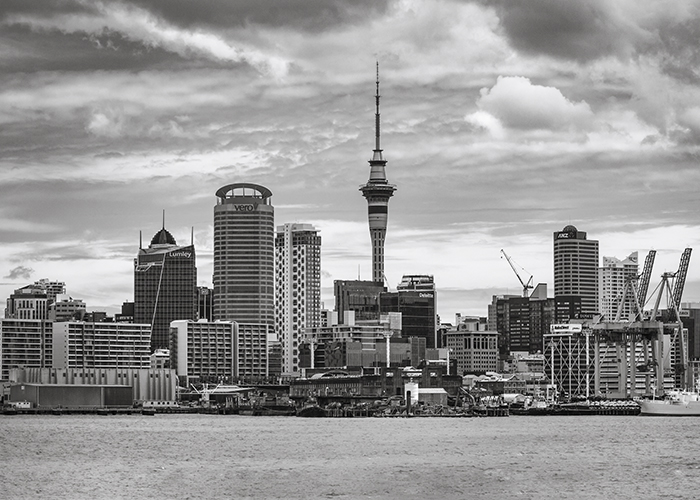 Auckland from Waitemata Harbour , beautiful pictures of new zealand