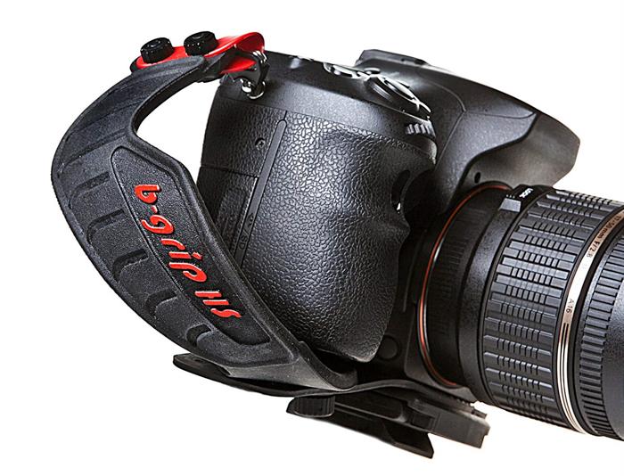 a DSLR camera on a - B-Grip HS+ hand strap