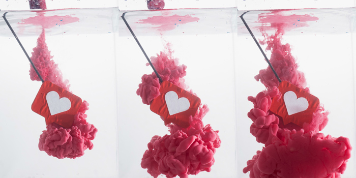 triptych setup to shoot colorful paint in water photography