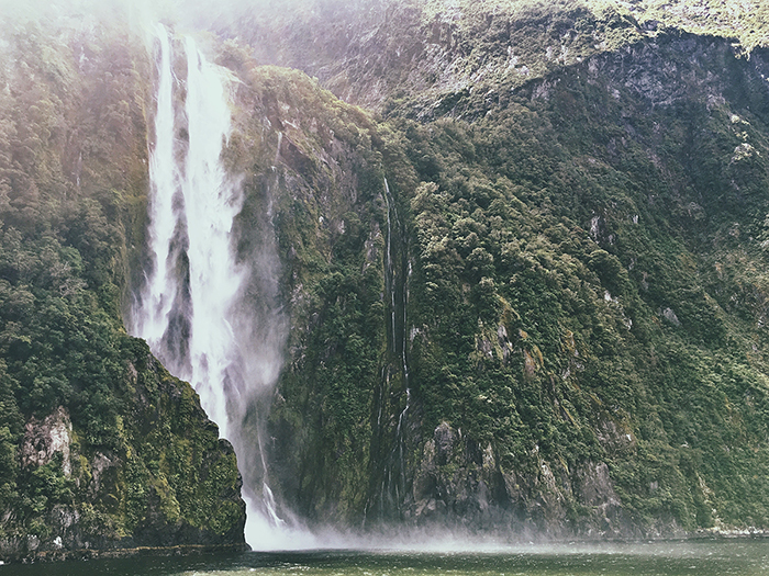 Stirling Falls, new Zealand waterfall photography