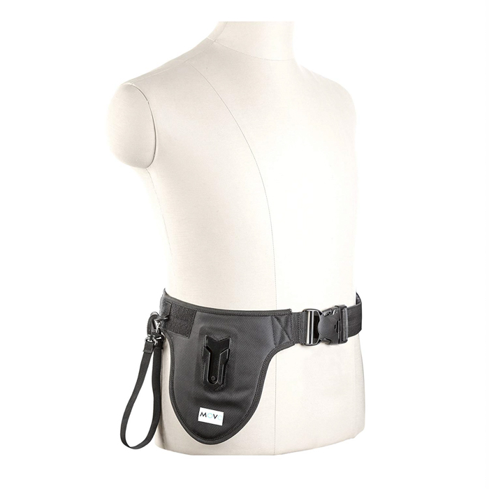 The Movo MB600 Universal Camera Belt Holster on a mannequin