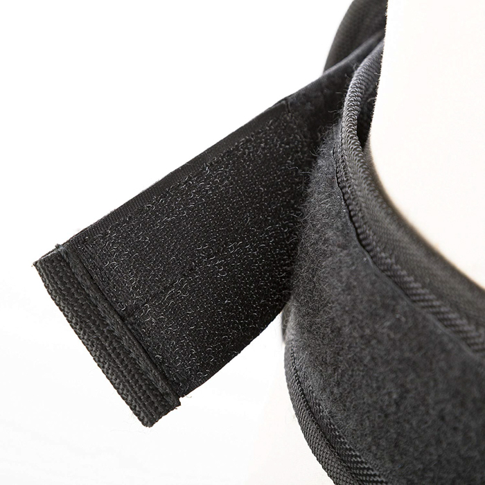 Close up of the Movo MB600 Universal Camera Belt Holster on a mannequin