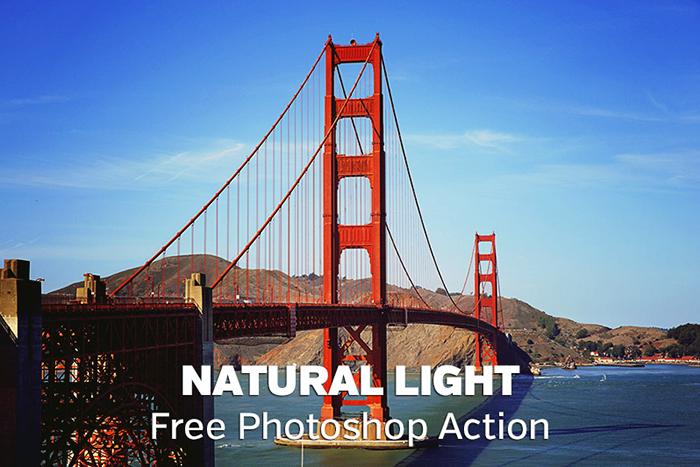Natural Light Landscape Photoshop Action