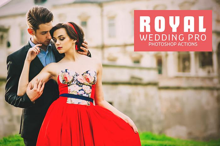 Royal Wedding Pro Free Photoshop Actions