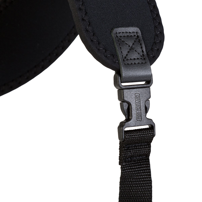A close up of the straps of a OP/TECH USA Double Sling