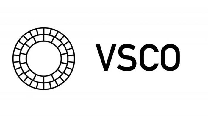 The VSCO instagram filters app logo