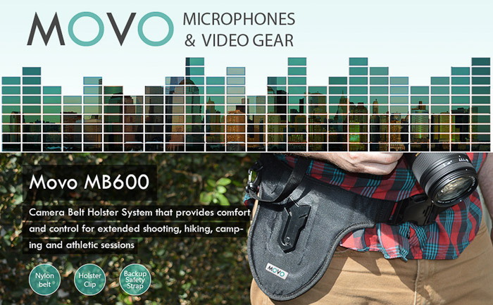 A screenshot of the Movo MB600 product page