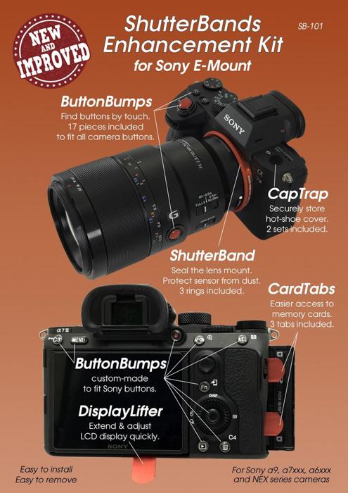 a product shot of Shutterbands enhancement kit
