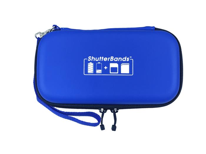 a shutterbands camera batteries holder
