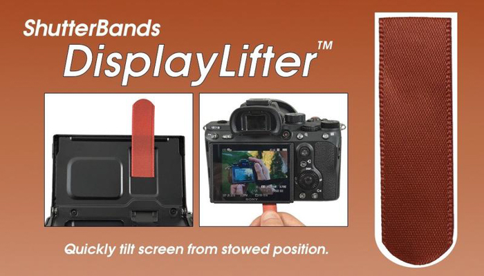 a product shot of Shutterbands Display lifter
