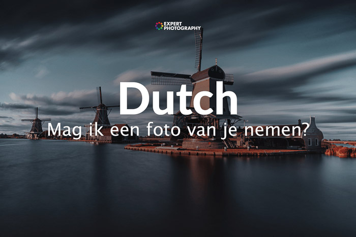 how to say can i take a picture in Dutch