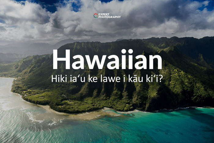 how to say can i take a picture in Hawaiian