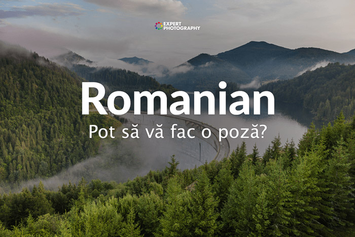 how to say can i take a picture in Romanian