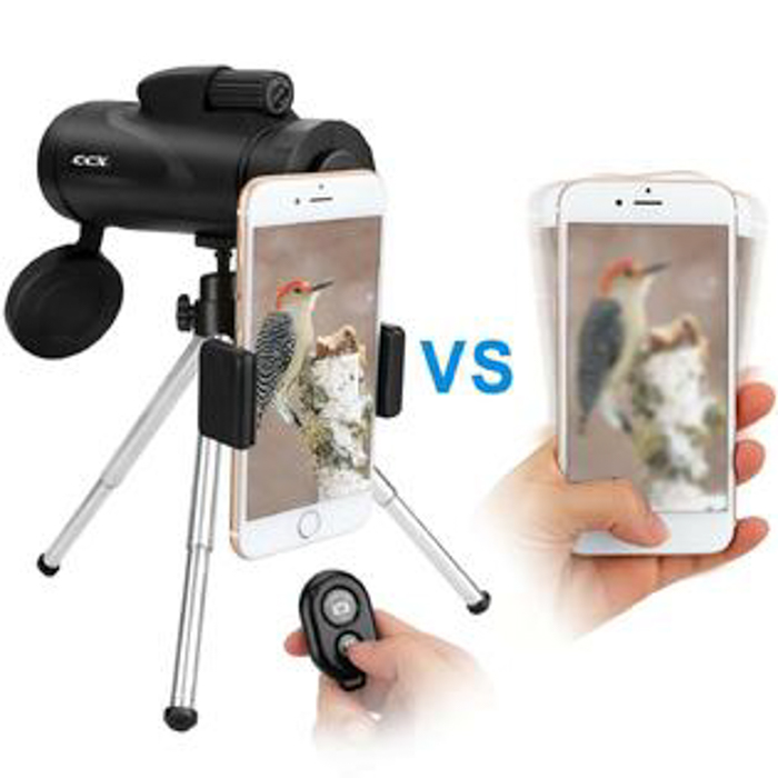 CCX Monocular telephoto lens for iphone and smartphone