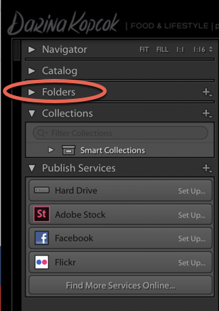 a screenshot showing how to rename or move images in Lightroom - lightroom mistakes