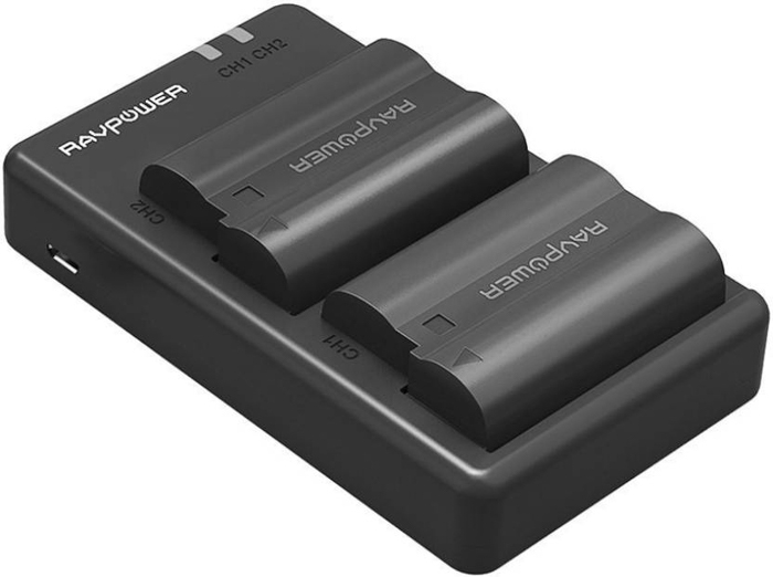 A Ravpower camera batteries for Nikon cameras