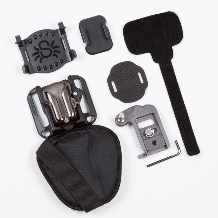 SpiderLight Backpacker components