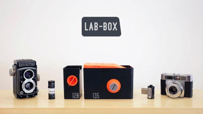 Photo of a Lab Box kit