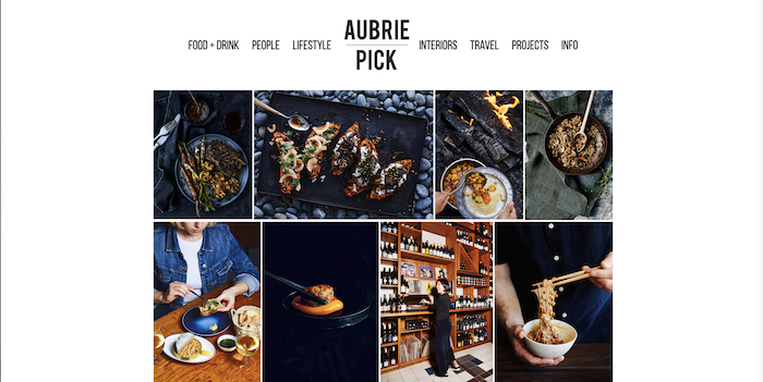 Photos of food by Aubrie Pick