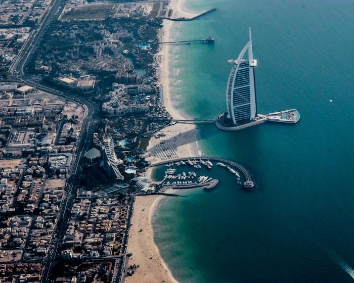 Birdview photo of Dubai