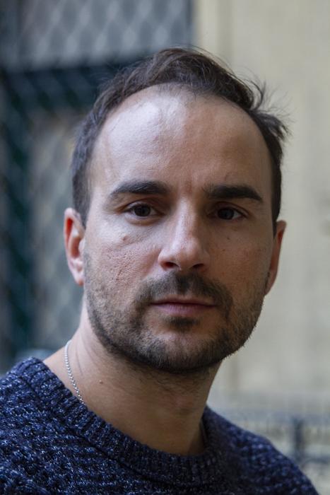 Portrait photo of a male model