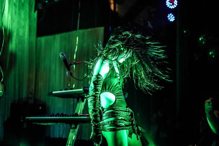 Photo of a dancer at a concert