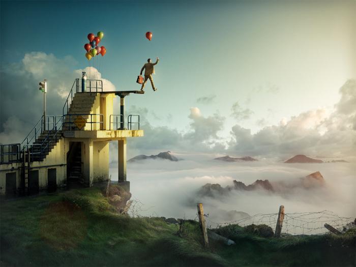 Leap of Faith by Erik Johansson