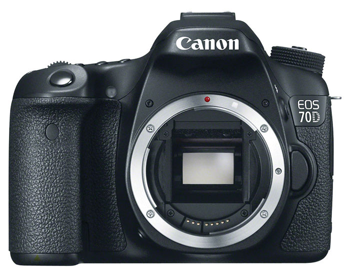 Image of the Canon 70D camera body