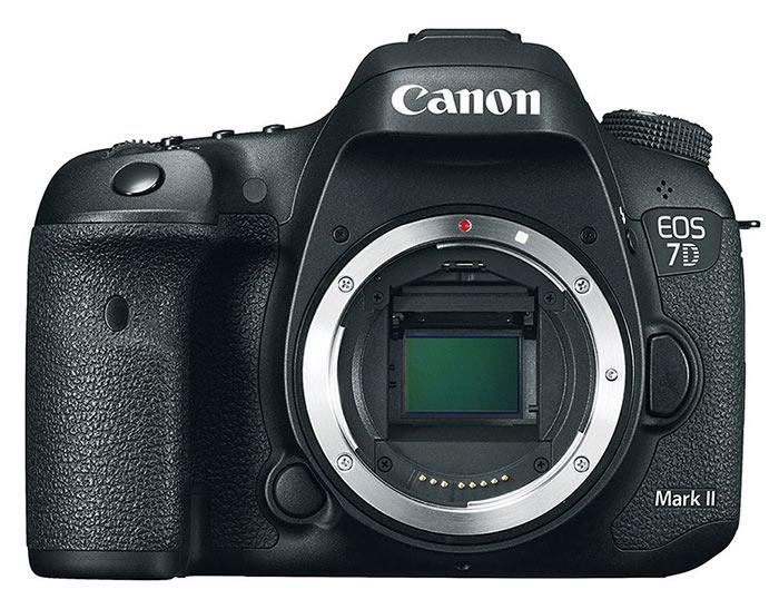 The Canon 7D camera body