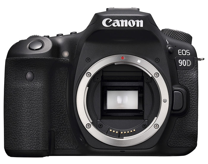 Image of the Canon 90D camera body