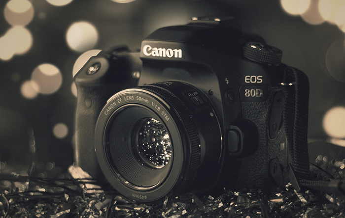 Image of the Canon EOS 80 D camera