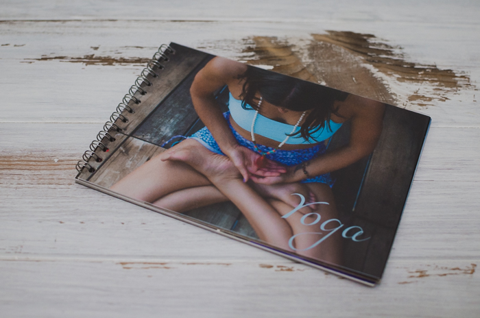 a printed digital photo diary