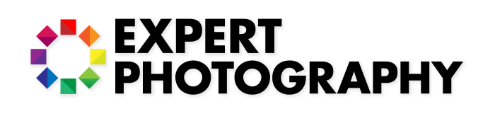 Expert Photography logo which will be used as the example for the clipping mask.