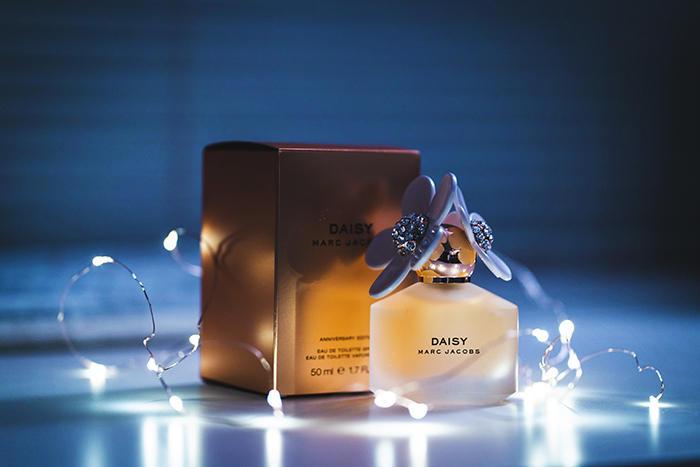Photo of a bottle of perfume - product photography