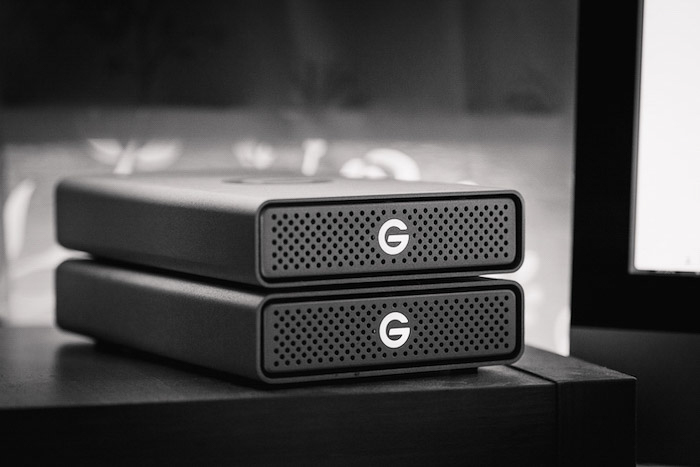 two external hard drives