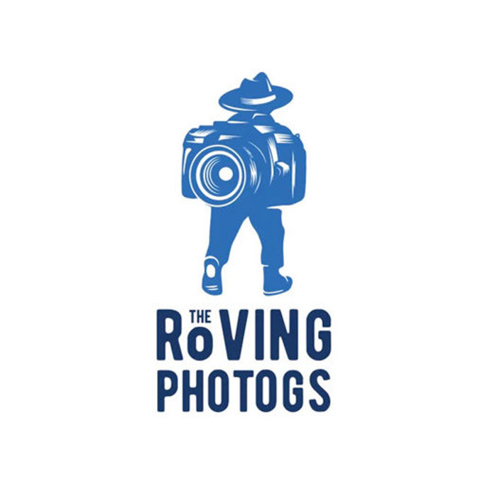 the roving photogs photography business logo