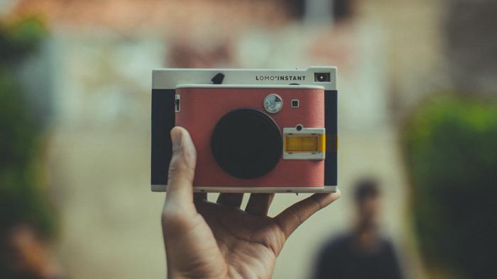 Photo of a Lomo instant camera