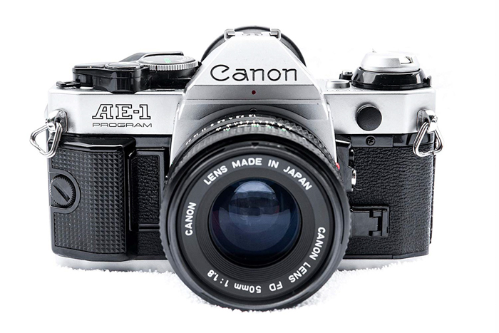 Photo of a Canon AE-1