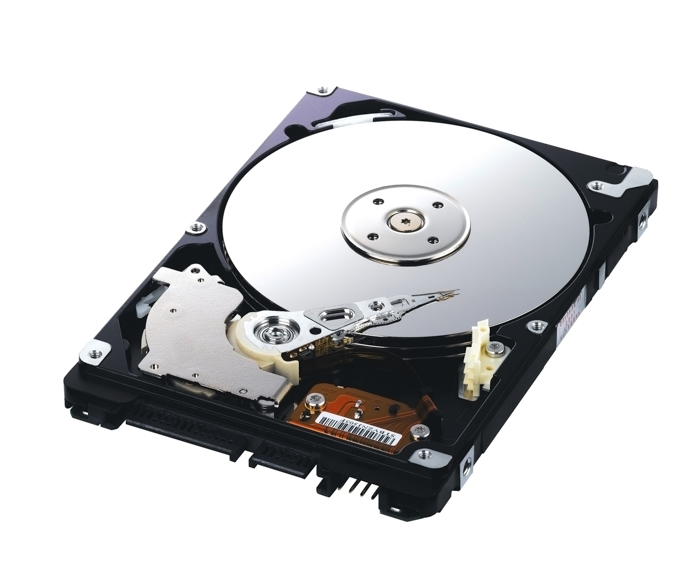 Photo of a hard drive
